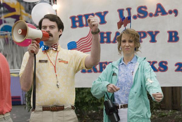 Bill Hader and Kristen Wiig Adventureland movie image