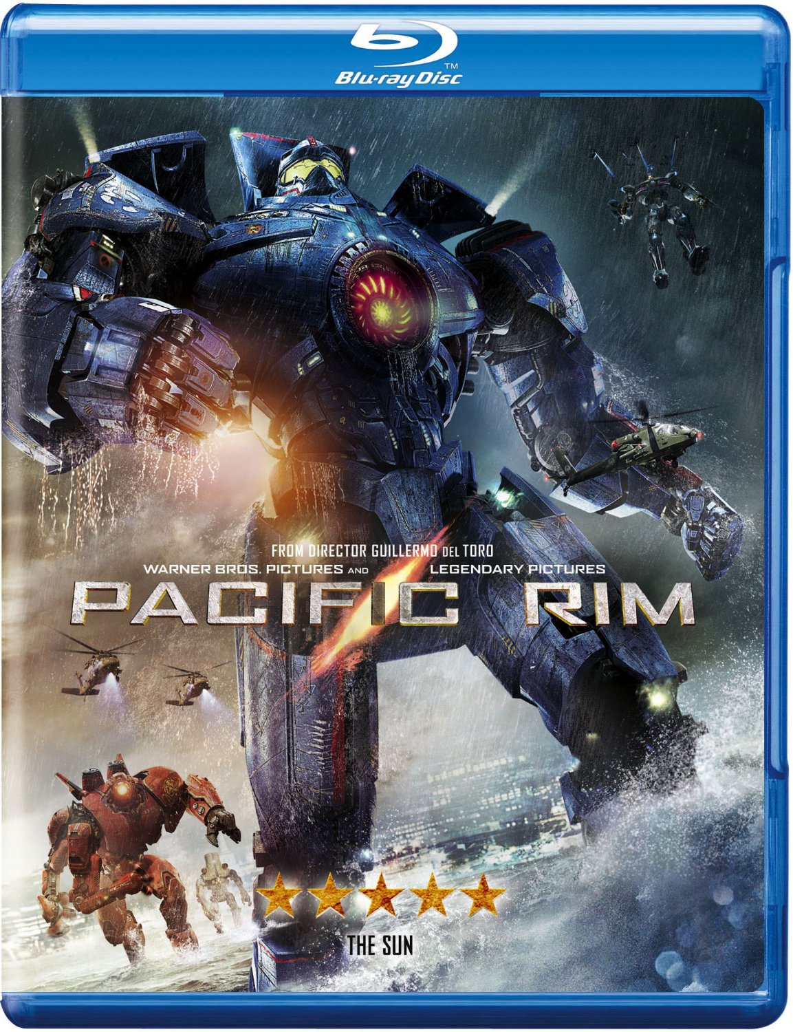 Pacific Rim Makes Giant Robots and Monsters Fun Again ... Pacific Rim 2013 Bluray