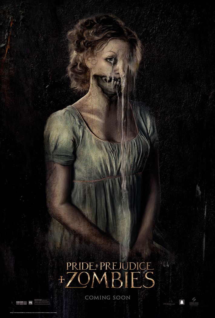 preview review pride prejudice zombies critics den pride zombies poster1