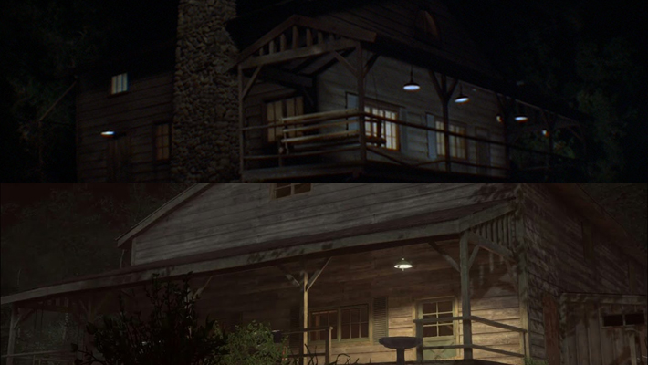 movie references of friday the 13th the game locations. Black Bedroom Furniture Sets. Home Design Ideas