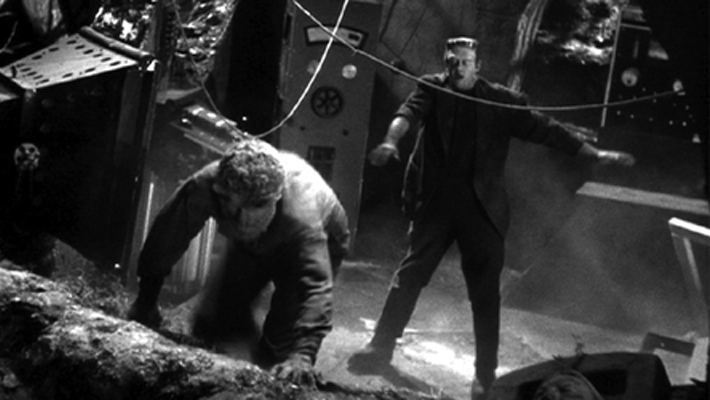 Reviews from the Edge: Frankenstein Meets the Wolfman | Critics Den
